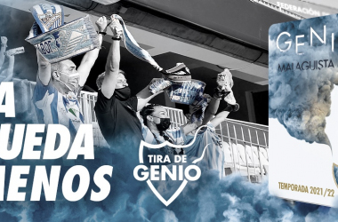 Foto de los abonados // Foto: Málaga CF