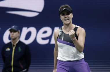 Svitolina faz partida segura, passa por Keys e segue no US Open
