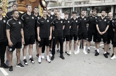 Plantilla del Bilbao Basket / Foto: RETAbet Bilbao Basket