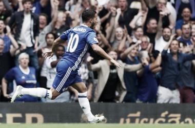 Hazard manda en el jardín del Edén (3-0)
