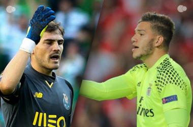 Ederson e Casillas são os guarda-redes menos batidos do nosso campeonato // Fonte: zerozero
