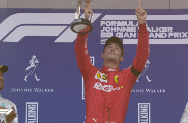 Formula 1 Gp Belgio- Vince Charles LeClerc nel ricordo di Anthoine Hubert