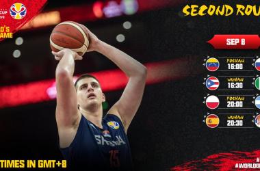 FIBA World Cup China 2019- Ai quarti vanno Serbia,Spagna,USA e Argentina