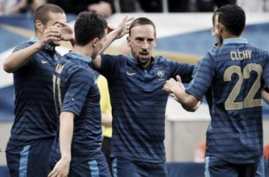 L'Equipe de France pourra compter sur Ribéry, nommé meilleur joueur européen de l'année. (©Maxppp)