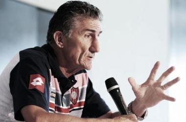 """Edgardo Bauza: """"No entiendo el fútbol si no sueñas con ganar"""""""