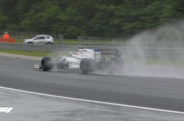 GP de Hungría: Libres 2, el agua es la gran protagonista
