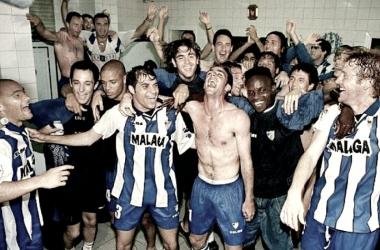 El Málaga, el club con más ascensos en España