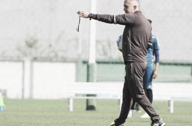 Treinador comandará o Coxa na partida de abertura do returno, contra o Sampaio Corrêa (Divulgação / Coritiba)