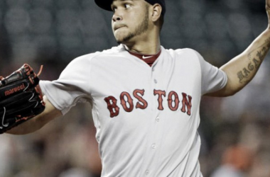Eduardo Rodriguez looks for a bounce-back start against the Orioles, his former organization, in hopes to pioneer the Red Sox to a division lead. Photo courtesy ofwww.csnne.com