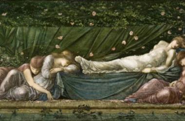 Imagen del cuadro de Edward Coley Burne-Jones 'La bella durmiente' de 1870 (Foto: arteinformado)