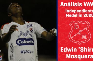 Análisis VAVEL, Independiente Medellín 2020: Edwin Mosquera