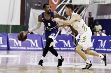 Hollins y Jaycee Carroll / Foto: Zenit Basket