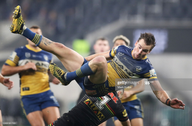 Parramatta Eels 16-10 Penrith Panthers: Resugrent Eels victorious in thrilling Western Sydney derby