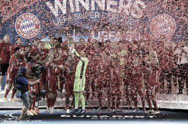 Campeões da Supercopa da Uefa, jogadores do Bayern exaltam Javi Martínez