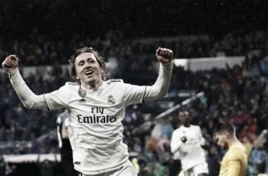 Modric marcó el gol que sentenciaba el encuentro. Imagen: La Liga