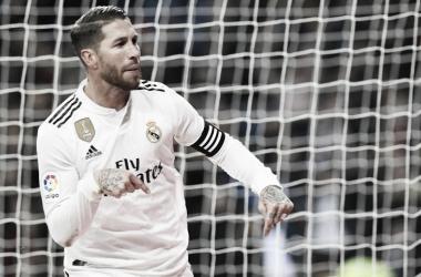 Sergio Ramos marcó dos goles. Imagen: La Liga