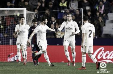 Gareth Bale transformó el segundo penalti. Imagen: La Liga