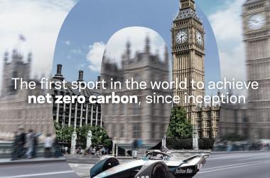 Fórmula E se torna primeira categoria a zerar emissões de carbono