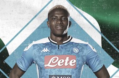 Jovem estrela do Lille, Osimhen se torna maior contratação da história do Napoli