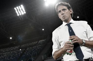 """Técnico Simone Inzaghi lamenta queda de desempenho da Lazio: """"Não queríamos terminar em quarto"""""""