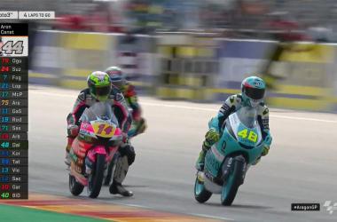 Moto3 Gp Aragon- Canet domina la pista di casa, ma Dalla Porta rimane leader Mondiale