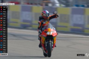 Moto2 Gp Aragon- Vola Binder, il Mondiale pare affare tra Marquez e Navarro