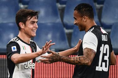 La Juventus batte il colpo presente. Sampdoria battuta 2-1 a Marassi