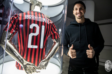 "Ibrahimovic si presenta: ""Sognavo di tornare al Milan"""