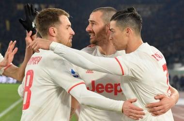 La Juventus è campione d'Inverno. Roma battuta 2-1