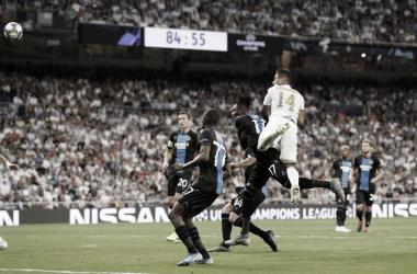 Sergio Ramos e Casemiro garantem empate do Real Madrid contra Club Brugge