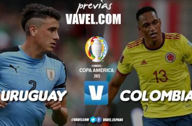 Previa Uruguay vs Colombia: duelo a muerte