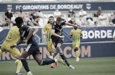 Na abertura do Campeonato Francês 2020-21, Bordeaux e Nantes ficam no empate