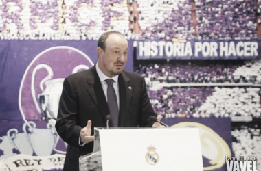 Fotos e imágenes de la presentación de Rafa Benítez por el Real Madrid