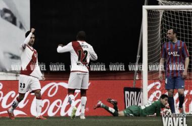 Fotos e imágenes del Rayo Vallecano - Levante, 25ª Jornada de Liga BBVA
