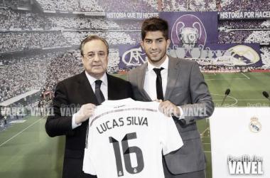 Fotos e imágenes de la presentación de Lucas Silva por el Real Madrid