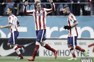 Fotos e imágenes del Atlético Madrid - Getafe, de la 28ª jornada Liga BBVA