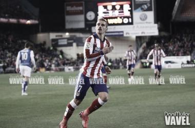 Fotos e imágenes del Atlético Madrid - Almería, jornada 24 de Liga BBVA