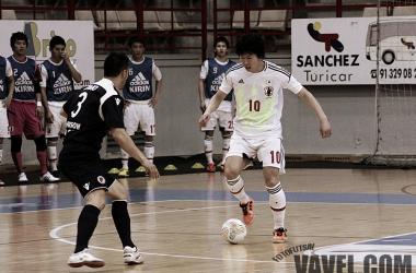 Kazuhiro NIBUYA fue el autor de dos goles en el partido.(Foto:Dani Mullor | Fotofutsal.es | vavel.com)