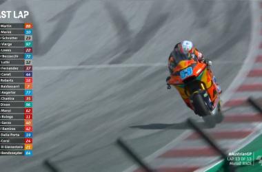 Gara pazza della Moto2: Vince Martin e Marini leader del Mondiale