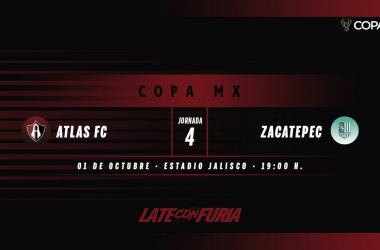 Previa Atlas - Zacatepec: seguir con vida en Copa
