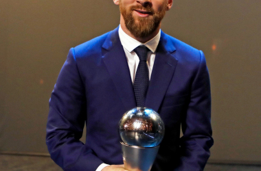 Leo Messi 'The Best' | Foto: FC Barcelona Twitter