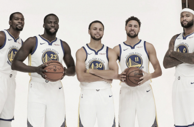 Los Warriors buscan construir su dinastía en la NBA. | Foto: Warriors