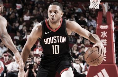 Eric Gordon. Fonte: Houston Rockets/Twitter