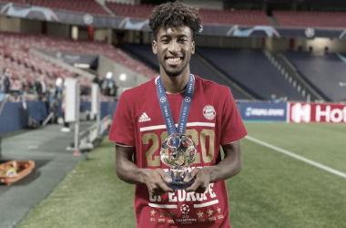 """Herói do Bayern, Coman vibra com conquista da Champions e parabeniza PSG: """"Fez um grande jogo"""""""