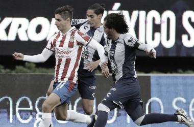 Sin goles ni fútbol, Chivas y Tuzos empatan