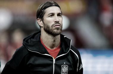 Sergio Ramos, el hombre récord de la selección española , 168 partidos con la absoluta y tres títulos | Fotografía: UEFA