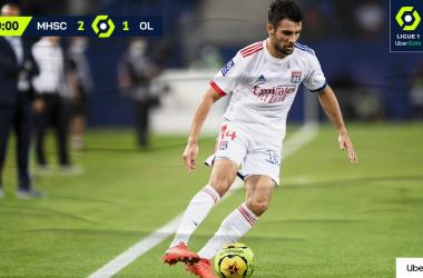 Il Montpellier batte 2-1 il Lione