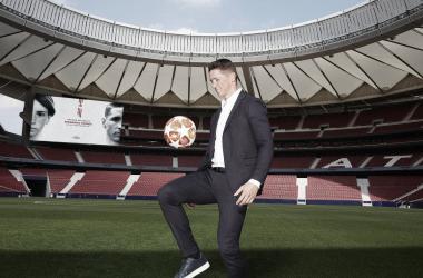Fernando Torres en la presentación de su documental. / Twitter: Fernando Torres oficial