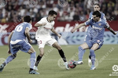 El Getafe no logró la victoria ante el Sevilla | Fuente: Getafe CF