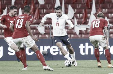 Inglaterra mexe no time, tropeça na Dinamarca e cai para segundo no grupo da Bélgica
